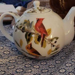 Ceramic Teapot w/infuser